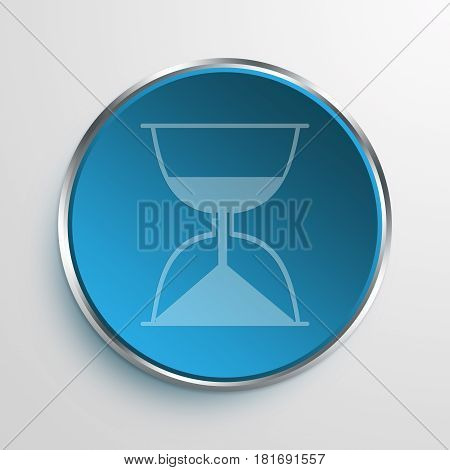 Blue Sign Pre-arrival Symbol icon Business Concept