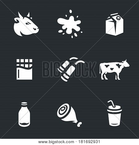 Beef, milk, packaging, chocolate milking machine bull bottle meat cocktail