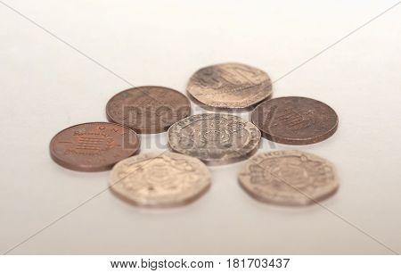 Pence Coins, United Kingdom