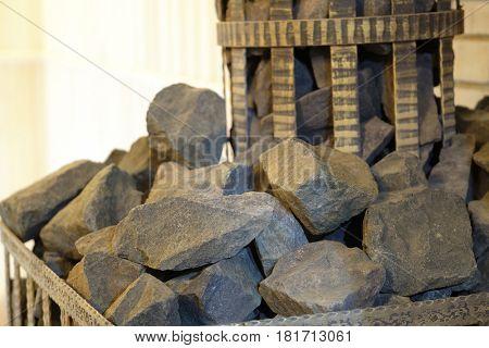 The image of a sauna boiler