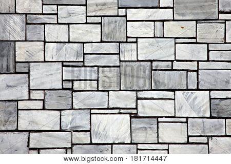 Background of new modern grey slate ceramic wall tiles