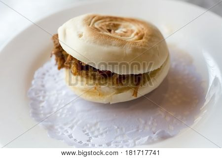 meat clip buns xian delicacies chinese hamburger