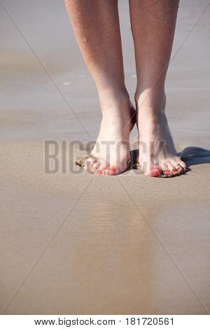Nice Legs In Water
