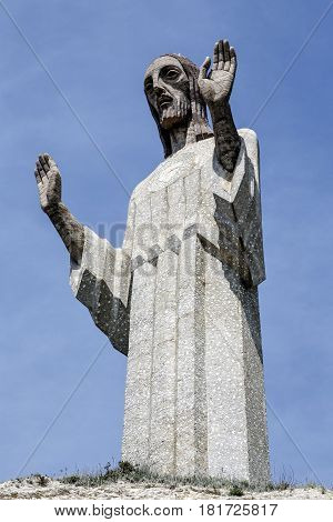 Cristo del Otero is the third largest Christ statue in the world located in Palencia Spain