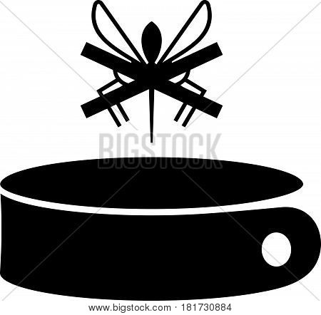 Anti-mosquito bracelet icon ( shade picture )