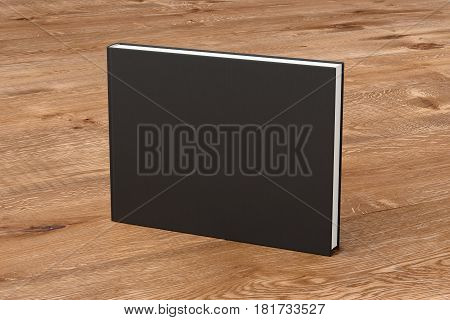 Blank Book Cover Standing
