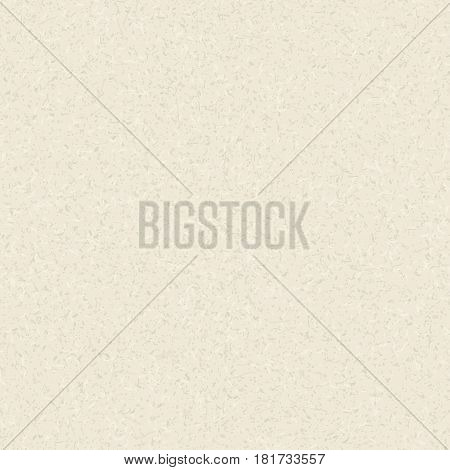 Paper cardboard texture. Vector seamless pattern. Abstract background. Grunge effect. Retro wrapping paperboard. Beige carton. Simple template for cards, banners, recycle posters design.