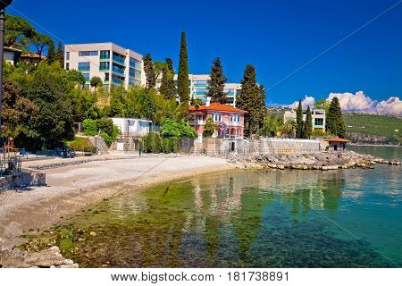Lungomare Famous Waterfront Walkway In Opatija View