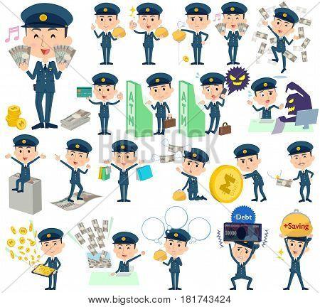 Police Man Money