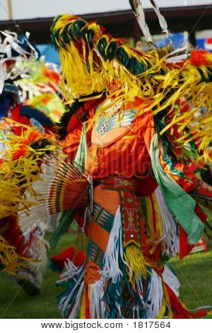Eastern Shoshone Powwow Dancers