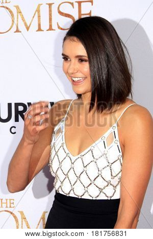 LOS ANGELES - APR 12:  Nina Dobrev at the