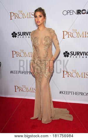 LOS ANGELES - APR 12:  Kara Del Toro at the