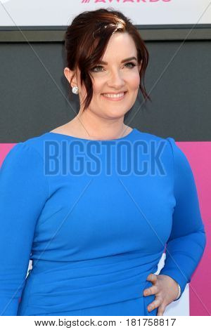 LAS VEGAS - APR 2:  Brandy Clark at the Academy of Country Music Awards 2017 at T-Mobile Arena on April 2, 2017 in Las Vegas, NV