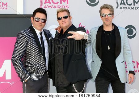 LAS VEGAS - APR 2:  Rascal Flatts at the Academy of Country Music Awards 2017 at T-Mobile Arena on April 2, 2017 in Las Vegas, NV