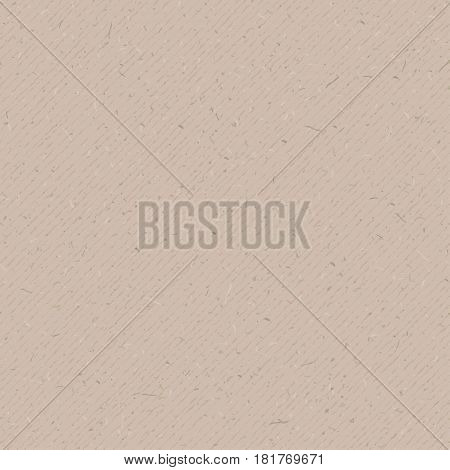 Paper cardboard texture. Vector seamless pattern. Abstract background. Grunge effect. Retro wrapping paperboard. Light brown, beige carton. Simple template for cards, banners, recycle posters design.