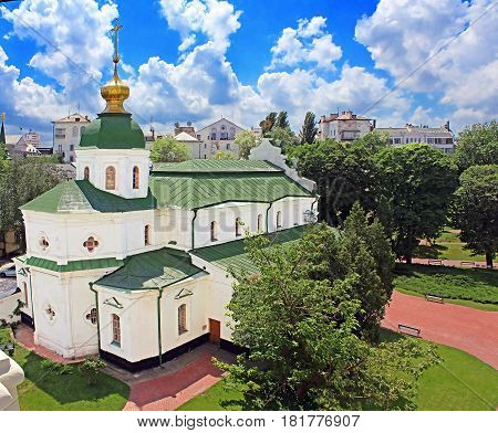 Refectory building of St. Sophia's Cathedral in Kyiм, Ukraine