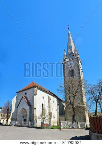 Turda town Romania Calvinist Reformed Church architecture