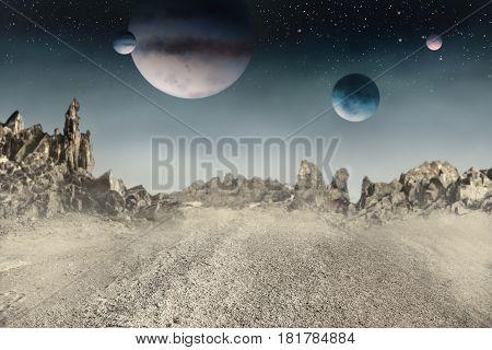 Uninhabited Desert