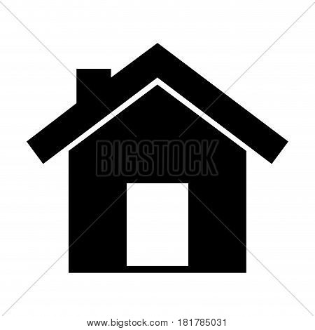house exterior isolated icon vector illustration design