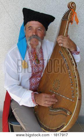 Elder Ukrainian Bandurist Muscian 17