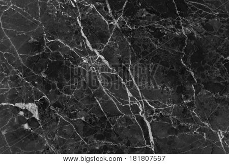 Black marble texture background, Detailed genuine marble from nature, Can be used for creating abstract marble surface effect to your designs or images.