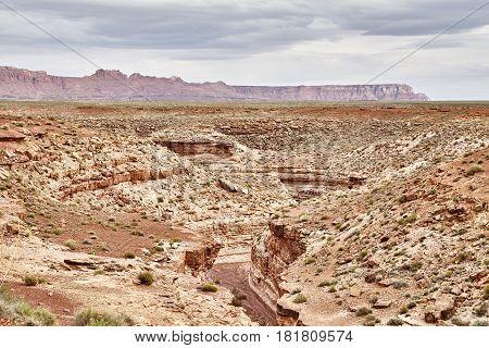 Incredibly beautiful landscape in National Park, Utah, USA