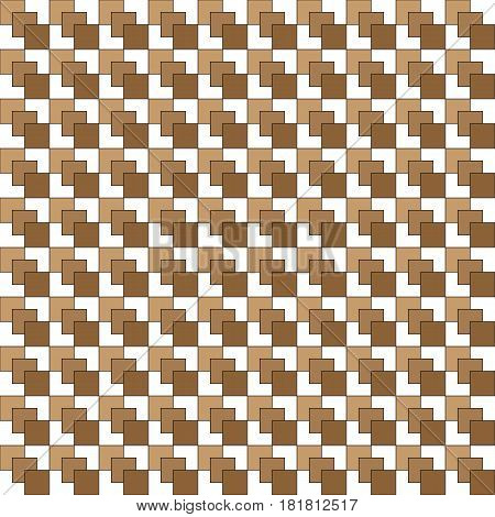 Abstract Image Of Brown Squares Arranged In A Seamless Performan