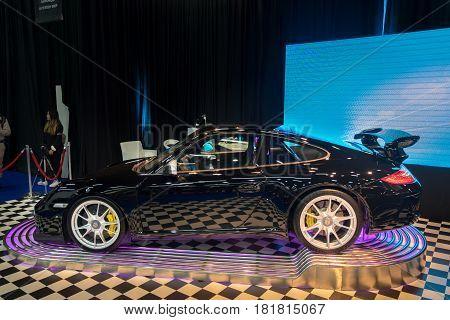 Porsche 911 Gt3 Presented On Tel-aviv Motor Show