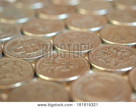 Pound Coins, United Kingdom