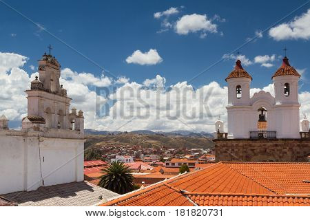 Church of San Felipe Neri Sucre Bolivia