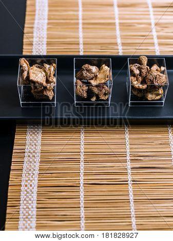 Raw Shitake Japanese Mushrooms