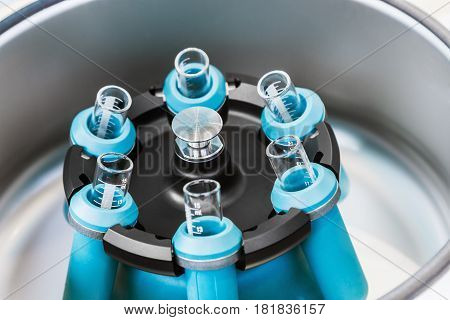 Medical device centrifuge for mixing in the laboratory. Modern technologies in medical equipment