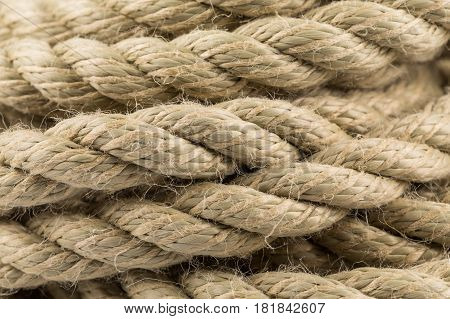 Old Rope Close Up