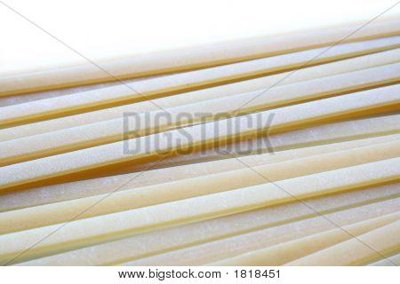 Pasta Linguine Closeup