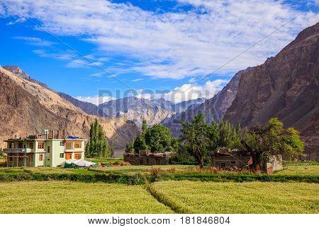 Turtuk village Diskit Jammu and Kashmir India