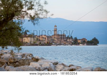 The Salo, On The Coast Of The Biggest Lake In Italy, Lago Di Garda.