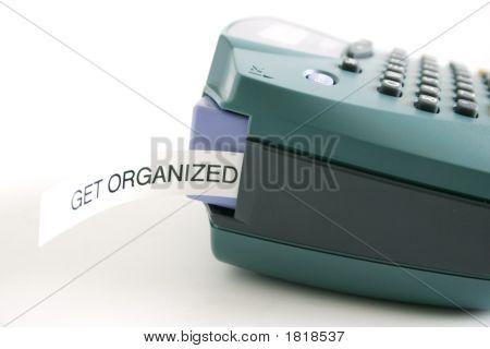 Get Organized Label