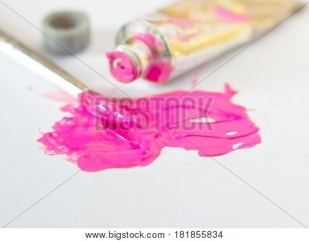colorful waterl paint for drawing and painting