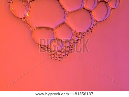 Background Texture Of Soap Bubbles