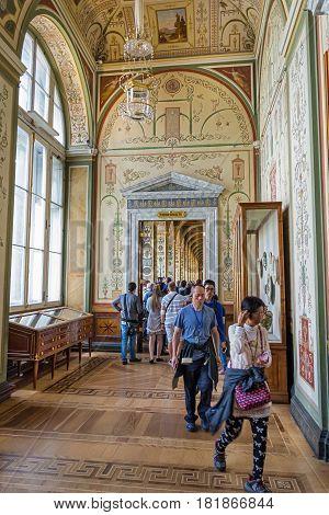 Interior Raphael Loggias, State Hermitage Museum