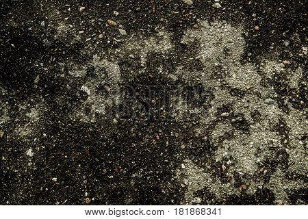 Asphalt, asphalt texture, asphalt background, scabrous asphalt. Grunge background. Gray grunge.