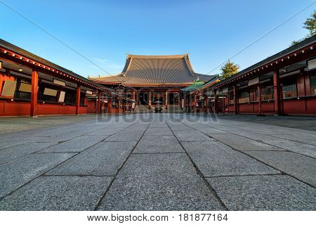 Tokyo - Sensoji-ji Temple in Asakusa Tokyo Japan.