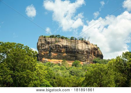 Sigiriya Sri Lanka kingdom, famous tourist place