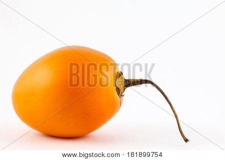 Tree tomato (Solanum Betaceum) isolated in white background