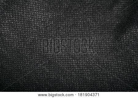 modern cotton dark gray textile fabric background for fashion designers.