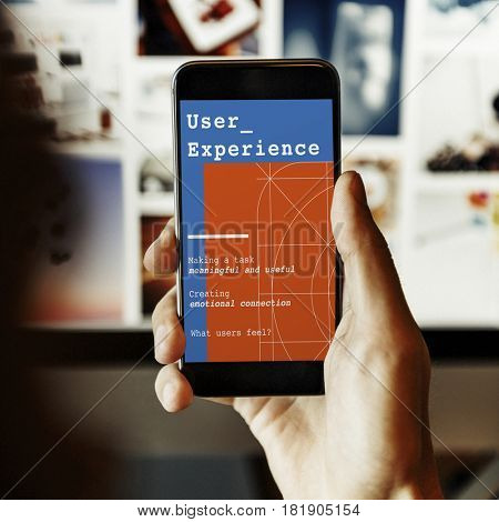 Web Design User Interface Concept