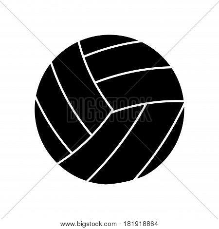 volleyball ball sport pictogram vector illustration eps 10