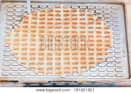 Dough For Wafers. Production Of Dough For Wafers.