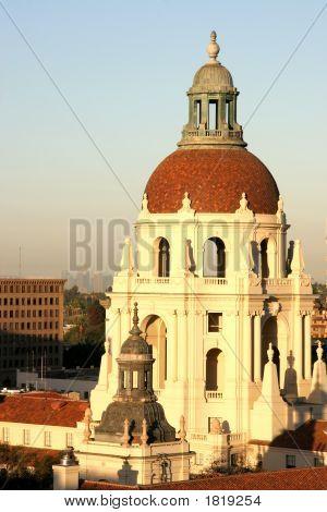 Pasadena City Hall At Sunrise