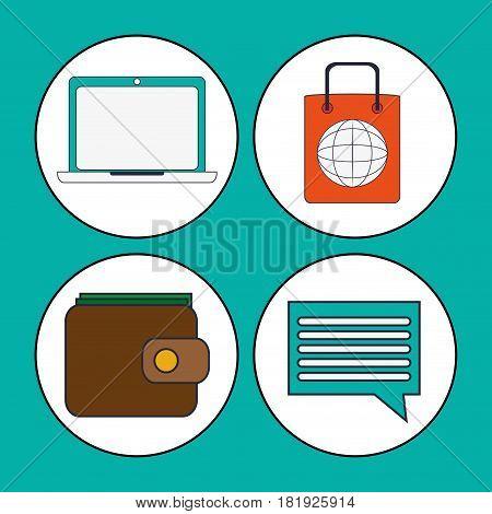 digital marketing concept strategy finance vector illustration eps 10